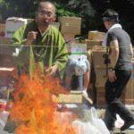 5月8日お焚き上げ供養実施